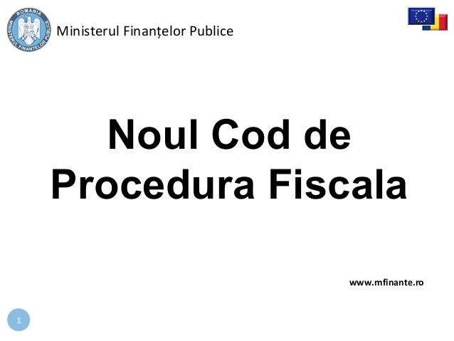 2015-0218prezentaremfpnoulcodprocedurafiscala-1-638