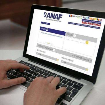 Autentificarea la inregistrarea in SPV se realizează in mediul electronic pe baza unor documente -comunicat ANAF, 10.04.2020